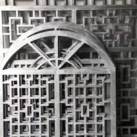 户外墙面装饰铝花格-热转印铝窗格工厂