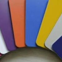 盐城吉祥铝塑板JX8819高光桔红铝塑板