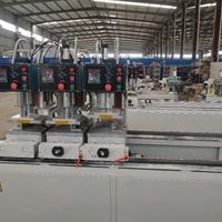 制作塑料门窗机器二位焊接机双头锯多少钱