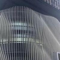 异型铝天花方通-造型弧形铝方通