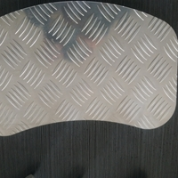 五条筋防滑花纹铝板任意加工定制