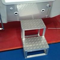 五条筋花纹铝板加工定制防滑脚踏板