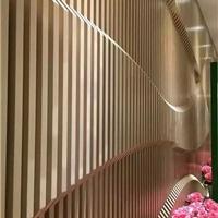 广告牌装饰铝方管,木纹铝方管外墙厂家