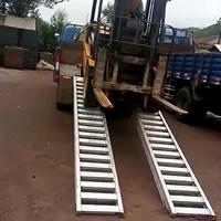 久达大象牌铝爬梯叉车上下卡车铝梯