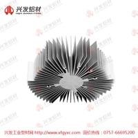 东莞太阳花散热器铝型材定制