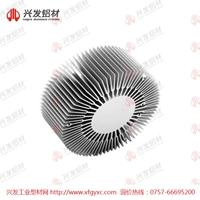 深圳太阳花散热器铝型材定制