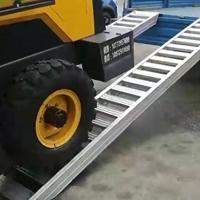 4.5米裝載機鋁梯叉車鋁爬梯叉車爬梯