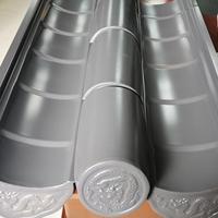 仿古建筑屋面铝合金铝瓦生产厂家指导价格