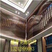 弧形铝方通弯曲工艺-铝型材格栅厂家
