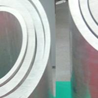 直供6063环保精密铝管 挤压铝管 600x8