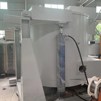 燃氣傾倒爐 1000KG熔鋁爐
