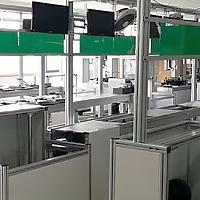铝型材工作台加工流水线工作台架子定做