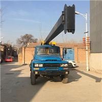 厂家直销汽车旋挖钻机六驱动力螺旋钻机