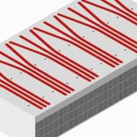 東浩 組合熱管散熱器 鑲銅管散熱器定制