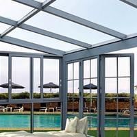 陽光房鋁型材,陽光房材料,陽光房成品安裝