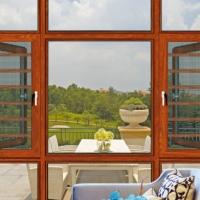木纹转印门窗铝型材