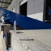 10吨登车桥 滁州市电动调节版安装
