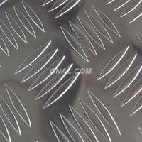 3mm 五条筋花纹铝板 防滑铝板现货
