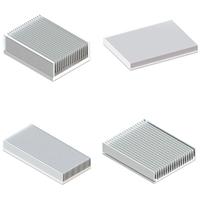 东浩 电子散热器 铝型材电子散热器定制