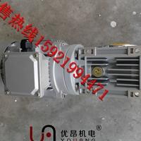 供應立式安裝RV063渦輪減速電機