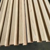 服装店橡木长城板-凹凸墙身铝板厂家