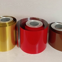 0.1mm彩涂快餐盒鋁箔 軟態食品級鋁箔