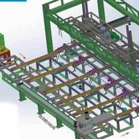 粵金海機械發明智能擠壓自動裝框系統