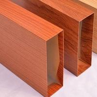 定制木紋鋁方管外墻保質工藝
