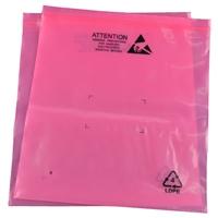 厂家供应数码电子包装袋 红色防静电PE袋