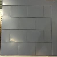 0.7mm厚度菱形平锁扣板安装