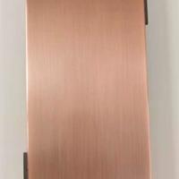 拉絲鋁單板_仿古銅鋁合金管_拉絲鋁板