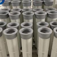 厂家直销除尘滤筒工业阻燃PTFE覆膜滤筒