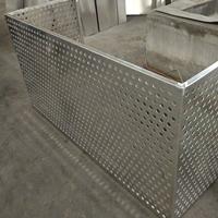江苏冲孔折弯合金铝板厂家直销空调防护网