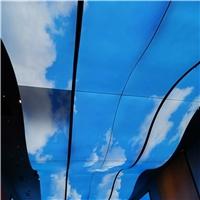 苏州别墅艺术装饰-3D彩绘铝单板多种风格