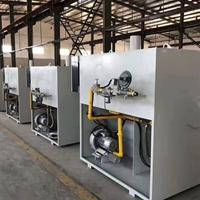 400KG坩埚式蓄热燃气炉 天燃气熔化炉