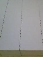 金属线防伪纸安全线防伪纸