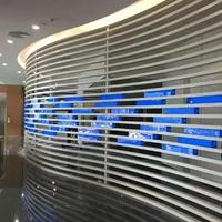 商场外墙门头弧形铝方通_波浪造型铝单板