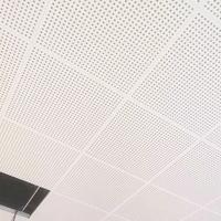 廠家批發辦公室裝修6060工程吸音鋁天花