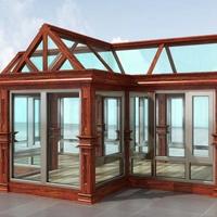 西青欧式铝合金系统阳光房