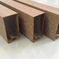 異型圓管鋁合金 6063異型材鋁方管 薄壁鋁管