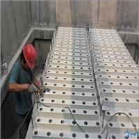 水泥濾板承載濾料層過濾和反沖洗配水