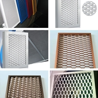 室外氟碳拉網板裝飾 廣州拉網板廠家