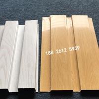木紋色凹凸形狀鋁板-氟碳鋁合金長城板