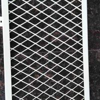 天花吊顶装饰工程拉网铝板 餐厅拉丝网板  ?