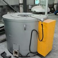600KG铝合金电炉 铸铝熔炼保温炉