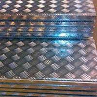 上海供應5052熱軋花紋鋁板成批出售