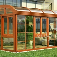 厂家生产新款阳光房铝型材及成品