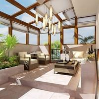 生产阳光房铝型材及成品制作安装