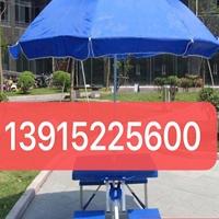 铝合金连体折叠桌椅盒户外广告遮阳伞