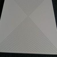 供應2.3孔率沖孔鋁扣板,吸音隔音鋁扣板特點
